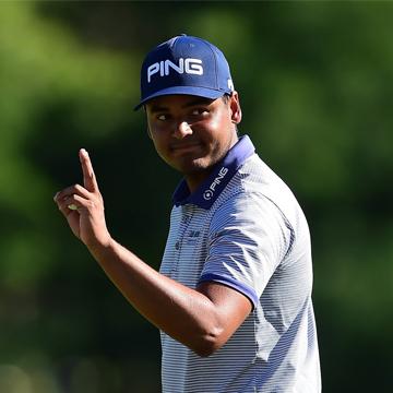Sebastián Muñoz se luce en el Barbasol Championship del PGA Tour