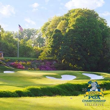 ¡Todo listo para el PGA Championship! El último major del año