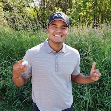 Sebastián Muñoz cerró su participación en el Web.Com Tour y celebra su paso al PGA