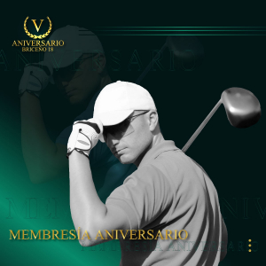 Ingreso al Campo de Golf: Membresia Aniversario Briceño 18